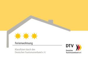 Fewo Torfring - DTV Bewertung 3 Sterne